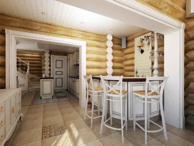 Дизайн интерьера дома коттеджа