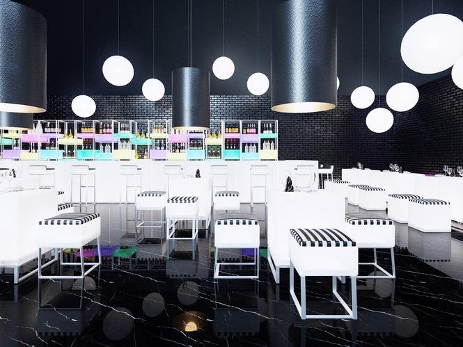 Проект кафе при автомагистрали М3 на 30 мест - Дипломная