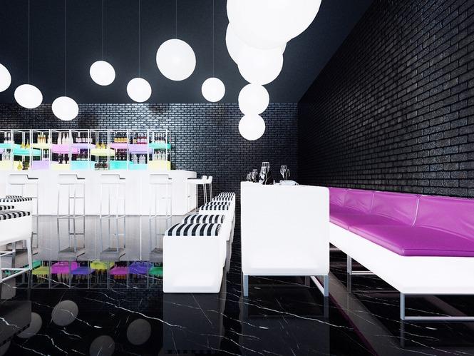Интерьеры ресторана в классическом стиле – вестибюль и